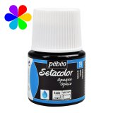 Setacolor opaque Pébéo - 45ml - noir