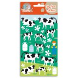 «My first stickers» ferme vache feutrine