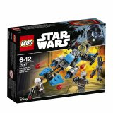 Pack de combat la moto speeder™ du Bounty Hunter - LEGO® Star Wars™ - 75167