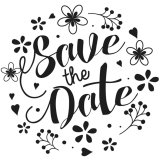 Tampon F - Save the date