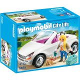 Voiture cabriolet - Playmobil City Life - 5585