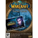 World Of Warcraft Time Card