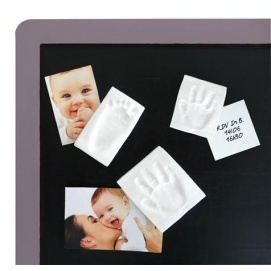 Baby art magnet keepsake