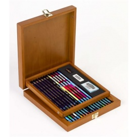 Coffret 29 crayons aquarellables Watercolour