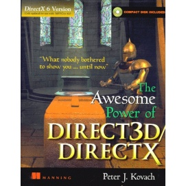 THE AWESOME POWER OF DIRECT 3D/DIRECTX  DirectX version 5 0, compact disk  included