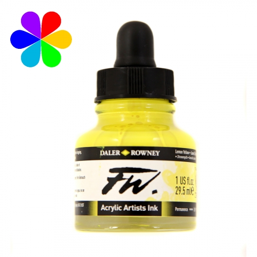 Encre Artists FW 29.5ml Lemon Yellow