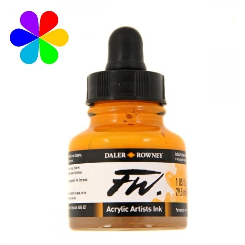 Encre Artists FW 29.5ml Indian Yellow