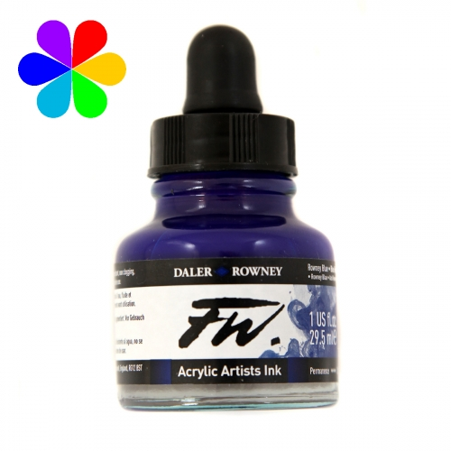 Encre Artists FW 29.5ml Rowney Blue