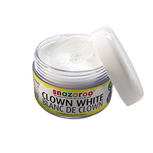 Blanc de clown pot de 50ml