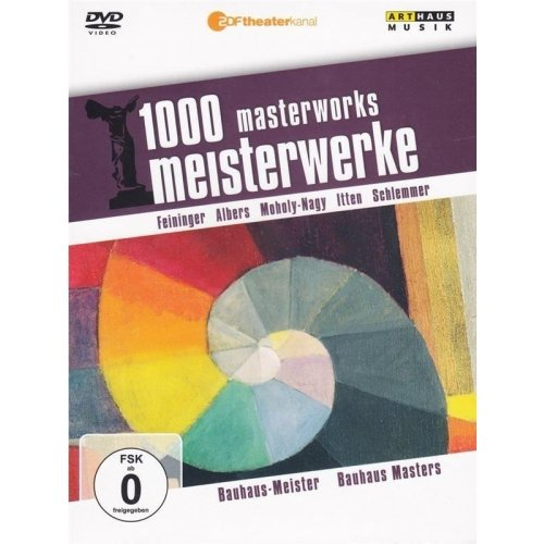 1000 MASTERWORKS THE GREAT MUSEUMS BAUHAUS MASTERS