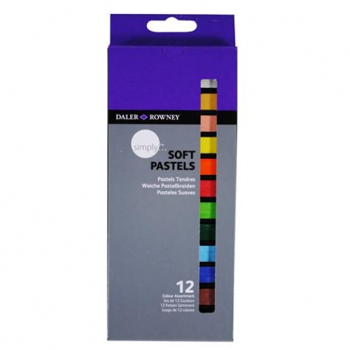 12 pastels tendres Simply
