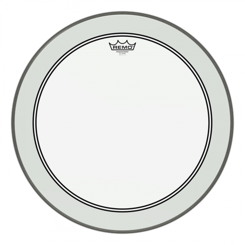 "Remo - Peau Tom 12"" - Powerstroke P3 transparent"