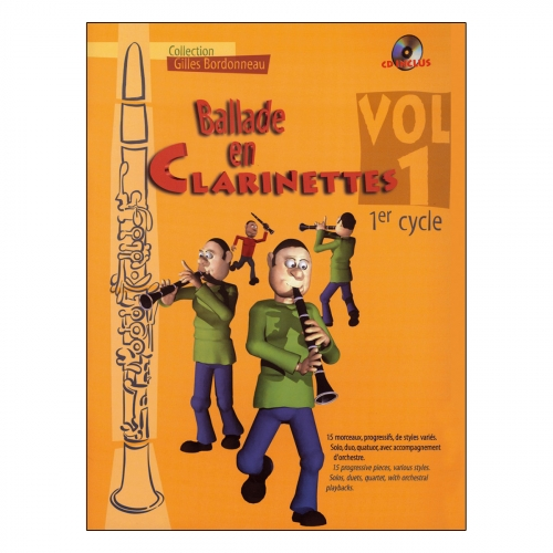 Ballade en clarinettes 1er cycle vol.1