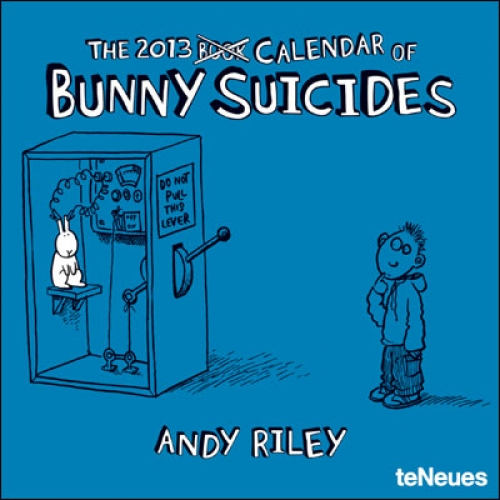 2013 Bunny Suicides Mini Grid Calendar