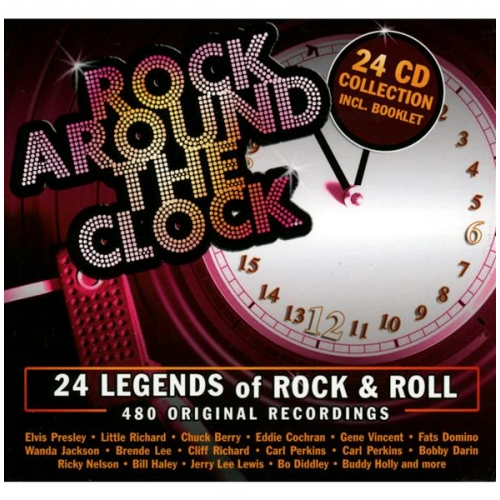 24 LEGENDS OF THE ROCK & ROLL