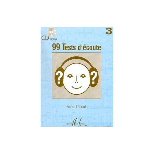 99 TESTS D'ECOUTE VOL.3 + CD