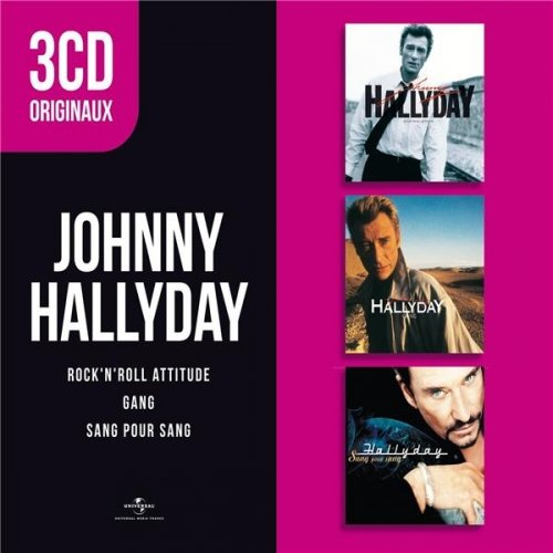 Johnny Hallyday : Gang - Rock'N'Roll Attitude - Sang pour sang