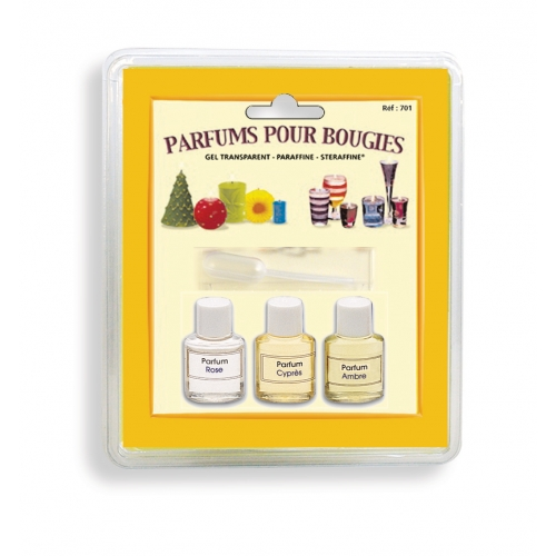 3 parfums pour bougies N°2