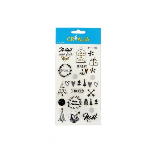 3 planches stickers transparents - Hygge