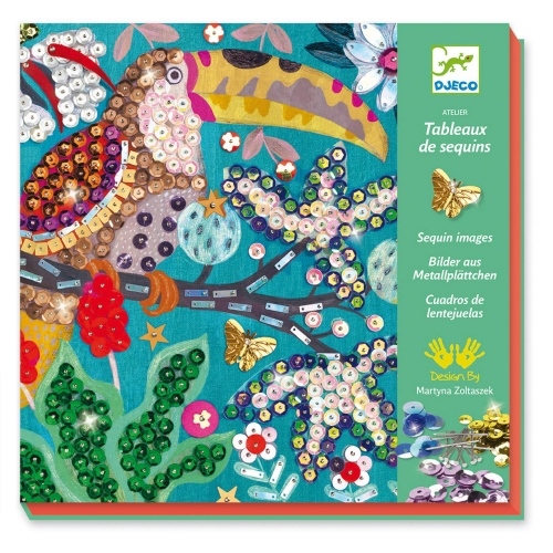 Flamboyants - Tableau de sequins - Djeco