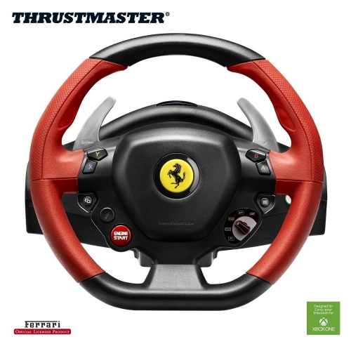 volant thrustmaster ferrari 458 spider racing wheel pour xbox one jeux vid o consoles. Black Bedroom Furniture Sets. Home Design Ideas