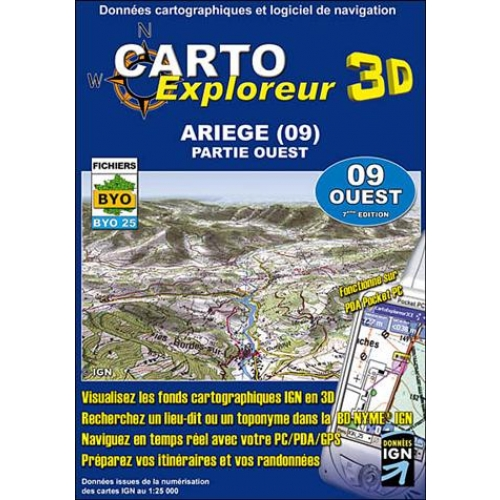 3D ARIEGE-OUEST CD-ROM
