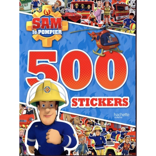 500 stickers Sam le pompier