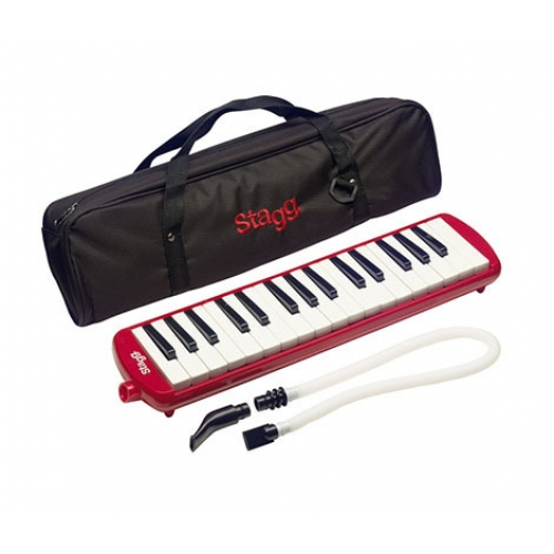 Stagg - Melodica 32 touches Rouge