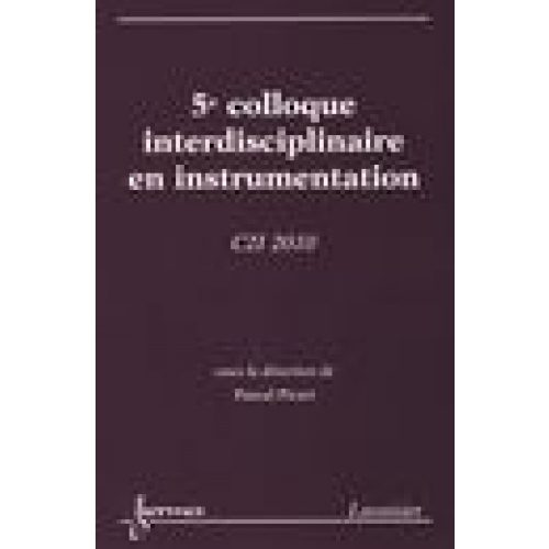 5e Colloque interdisciplinaire en instrumentation - C2I