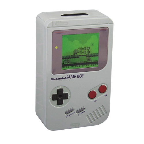NINTENDO - TIRELIRE METAL GAME BOY