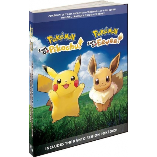 Guide du Jeu Pokémon Let's go Pikachu et Let's go Evoli - Edition Standard - Version Française
