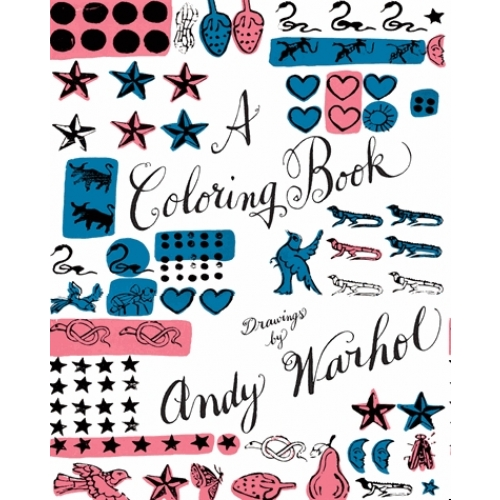 A coloring book : drawings by Andy Warhol