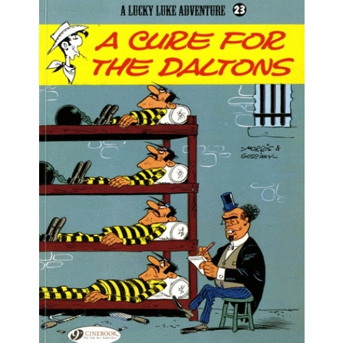 A Lucky Luke Adventure Tome 23 - A cure for the daltons