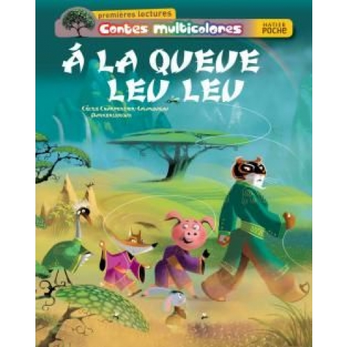 Contes multicolores Tome 54 - A la queue Leu Leu