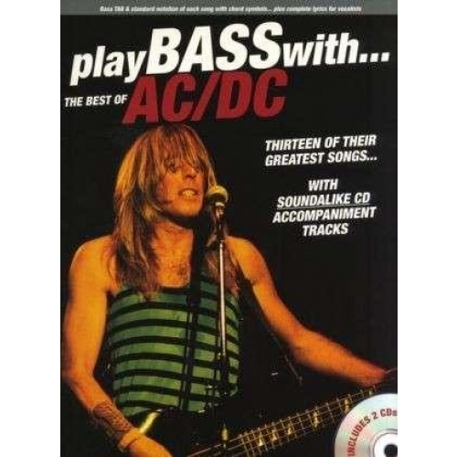 AC/DC BEST OF PLAY BASS WITH