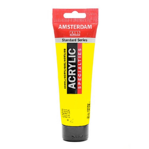 Acrylique Amsterdam 120 ml - Jaune Azo Transparent Moyen