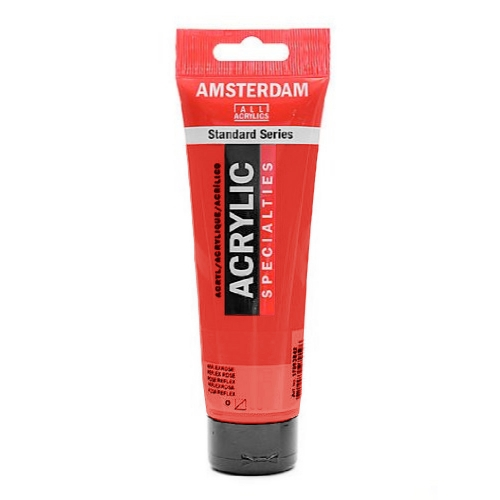 Acrylique Amsterdam 120 ml - Rouge Naphtol Clair