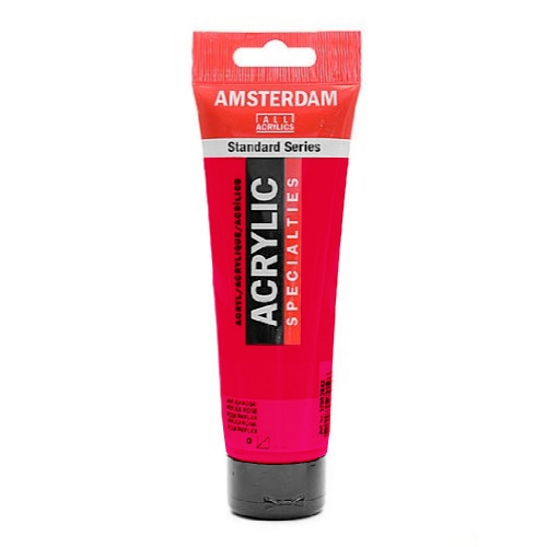 Acrylique Amsterdam 120 ml - Rouge Permanent Pourpre