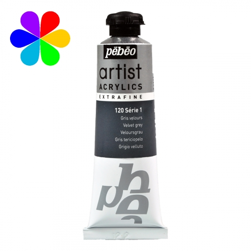 Acrylique extra-fine 37ml s1 120 gris velours