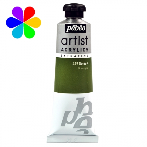 Acrylique extra-fine 37ml s4 429 greengold