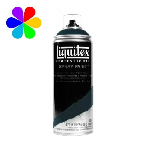 Spray Paint 400 ml - noir transparent - n°0260