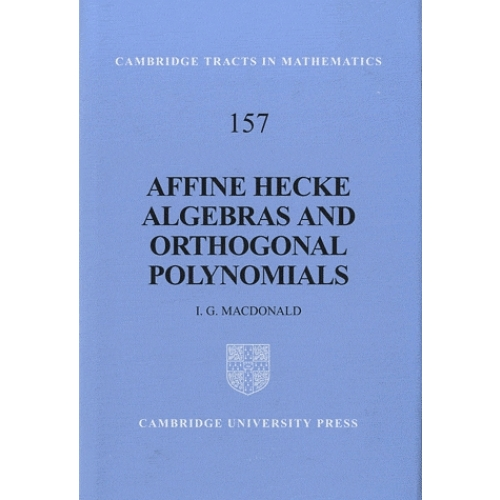 Affine Hecke Algebras and Orthogonal Polynomials