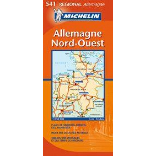 Allemagne Nord-Ouest - 1/350 000