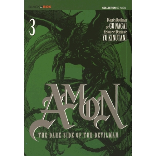Amon The Dark Side of the Devilman Tome 3
