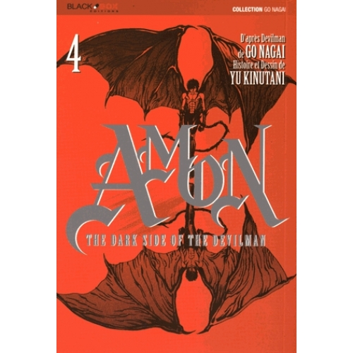Amon The Dark Side of the Devilman Tome 4 - Amon Tome 4