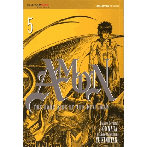 Amon The Dark Side of the Devilman Tome 5 - Amon Tome 5