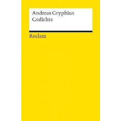 Andreas Gryphius - Gedichte
