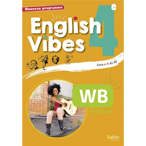 English Vibes 4e A2, B1 - Workbook