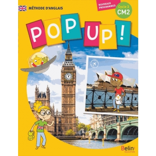 Anglais CM2 cycle 3, Pop Up