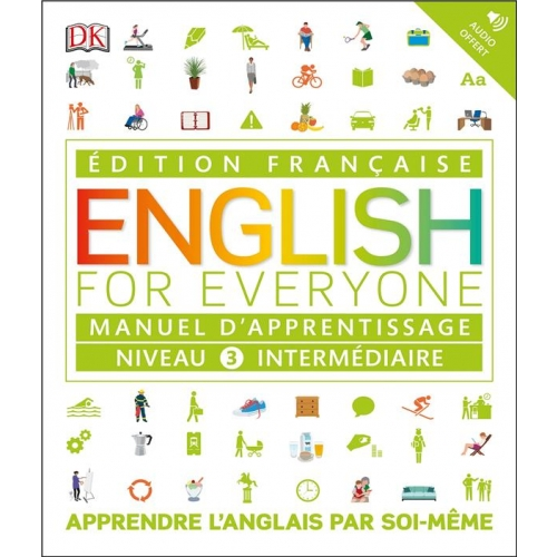 English for Everyone Niveau 3 intermédiaire - Manuel d'apprentissage